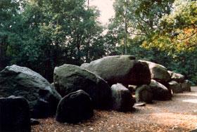 Het grootste hunnebed van Nederland staat in Borger (Foto: Hunebedcentrum)